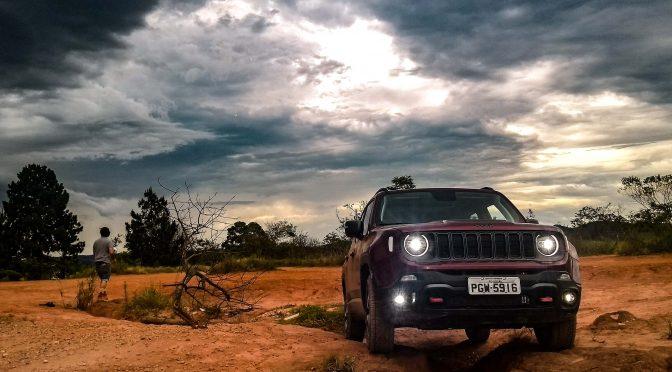 Jeep Renegade grava campanha comercial na região Bragantina